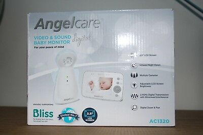 Angelcare AC1320 Video & Sound Baby Monitor RRP £139