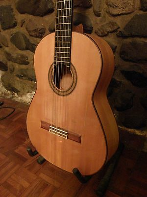 1960's Luthier Made Flamenco Guitar - MANUEL CONTRERAS BLANCA WITH PEGS 1A