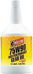 2 Red Line Oil 57904;Gear Oil; 2 Quart Bottle; 75W-90; Synthetic; GL-5