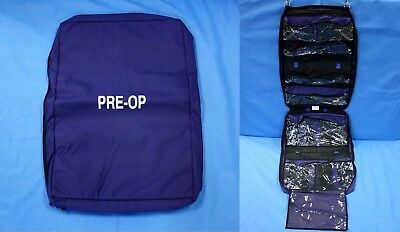 "Iron Duck Pre-Op Medical Hanging Bag 7 Pockets U.S. Made 58 x 18.25"" EMT New"