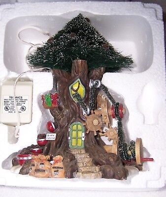 Dept 56 NORTH POLE WOODS Trim-A-Tree-Factory