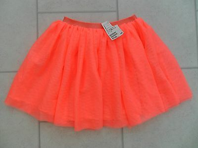 New Girls H&M Frilly Neon Pink Party Skirt Age 7/8 Years BNWT