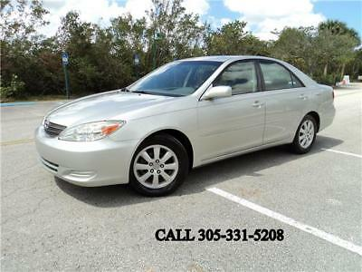 2002 Toyota Camry XLE Carfax certified One Florida owner Super clean 2002 Toyota Camry XLE Carfax certified One Florida owner Super clean