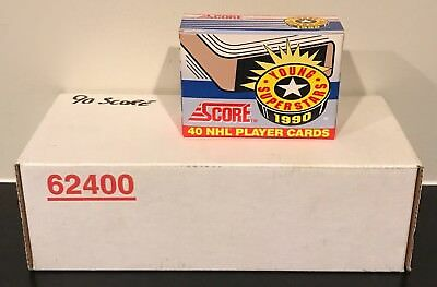 1990-91 Score Hockey Factory Complete Sets American 1-445 & Young Superstars 40