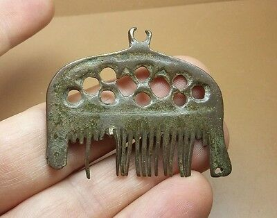 GREAT ANCIENT RARE Viking COMB  PENDANT Viking Kievan Rus ca 10-12 century #2557