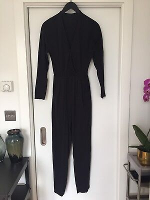 American Apparel Black Jumpsuit Size Medium New