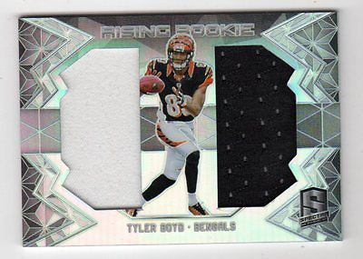 Tyler Boyd Nfl 2016 Panini Spectra Rising Rookie Materials  (Bengals) # / 199