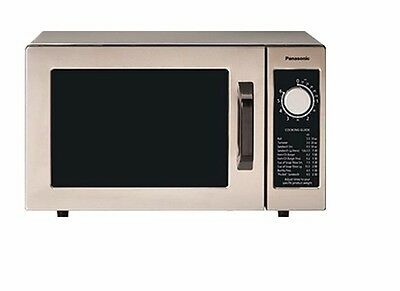 Pro Commercial Microwave Oven, 1000 Watts, 6 min. dial timer, Panasonic NE-1025F