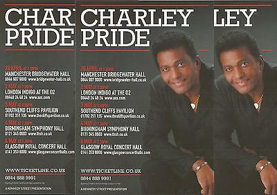 Charley Pride  - 2015 Tour FLYERS x 3