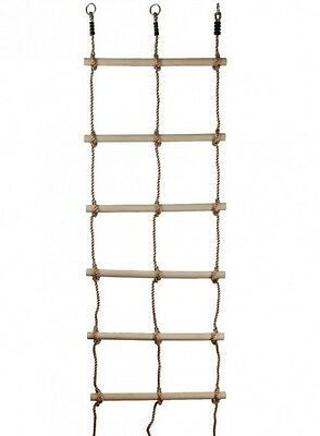 ROPE LADDER DOUBLE Climbing Cubby House Accessories Outdoor Play Equipment Fort