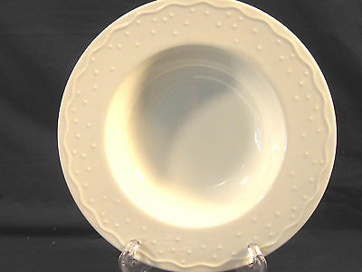 """Crate & Barrel China """"water Music"""" Large Rimmed Soup Bowl/use For Veggies"""