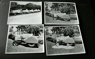 CASE grove orchard Tractor Original PHOTOGRAPH BEAUTY QUEENS ON TRACTORS