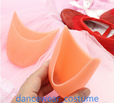 Ladies Girls Silicone Gel Toe Pads Protectors For Ballet Dance Pointe Shoes P777