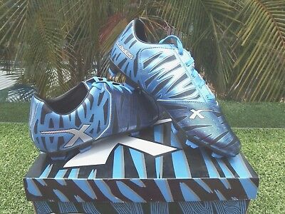 X  Blades Mens Wild Thing Football / Soccer Blue Boots Size 10.5. Usa 9.5  Uk