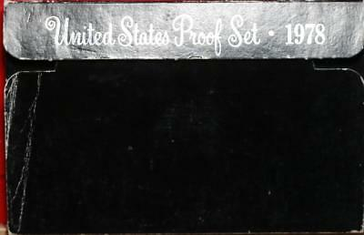 Uncirculated 1978 United States Proof Set Free Shipping