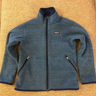 Patagonia Boy's/Girl's Zip Sweater Size 8/10