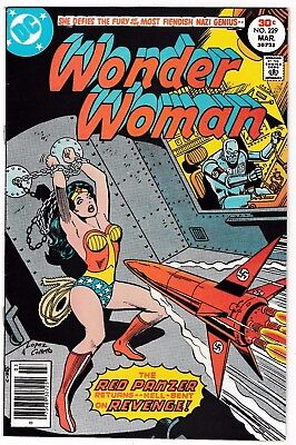 WONDER WOMAN #229 (VF+) 2nd RED PANZER Appearance! Classic Bronze-Age Issue! DC