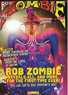 Rob Zombie Metal Hammer 16 Page Magazine Supplement White Zombie