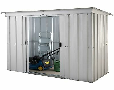 Yardmaster 6 x 4ft Metal Garden Storage Unit.