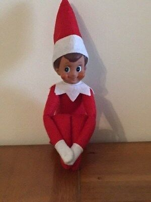 Red Boy Elf On The Shelf Doll