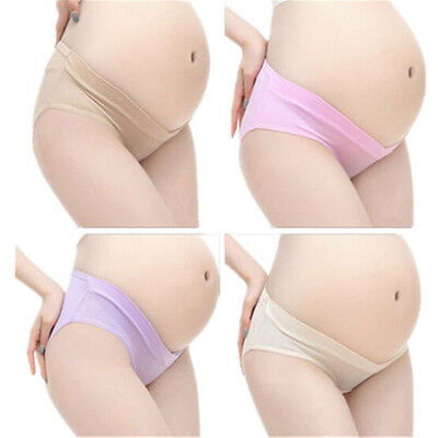 Pregnancy Panties Briefs Pregnant Mother's Cozy Underwear Low Waist Lingerie New
