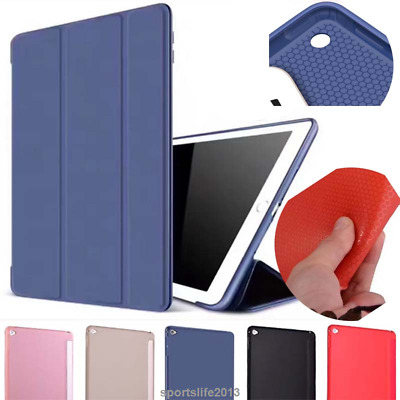 "PU leather Tpu shockproof Smart Stand Case for ipad air Pro 11 9.7"" 10.5 17 mini"