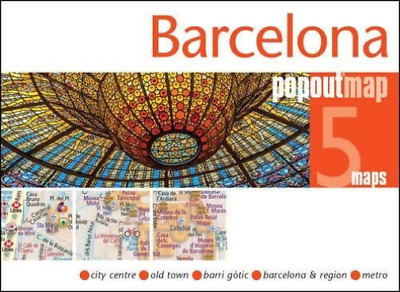 Popout Barcelona  Book New