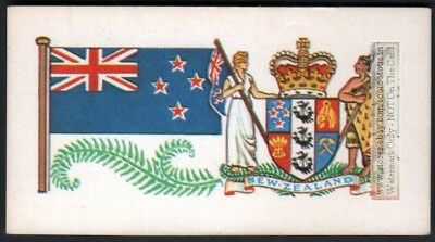 Flag And Standard - Banner For Australia c50 Y/O Trade Ad Card