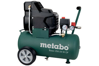 METABO Kompressor Basic 250-24 W OF ölfrei 601532000 8 bar Druckluftkompressor