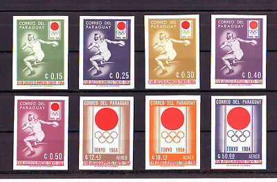 Ol. Spiele,Olympic Games,Paraguay,1964, 1273-80**