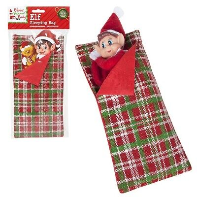 Traditional Patterned Elf Sleeping Bag Accessory Naughty Accessories Shelf
