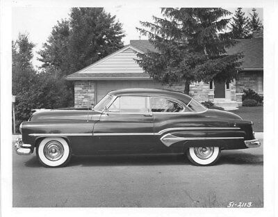 1951 Oldsmobile Super 98 Deluxe Holiday Coupe ORIGINAL Factory Photo oub7860