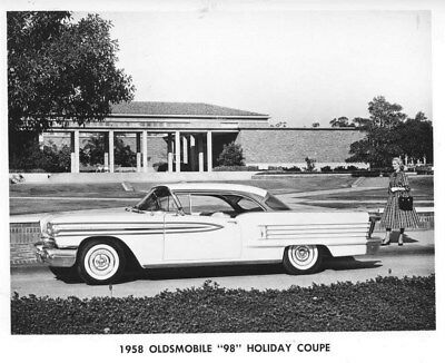 1958 Oldsmobile 98 Holiday Coupe ORIGINAL Factory Photo oub7882