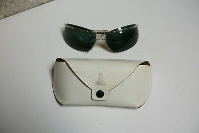 1960 Renauld Of France Wrap Around Sunglasses With Original Case