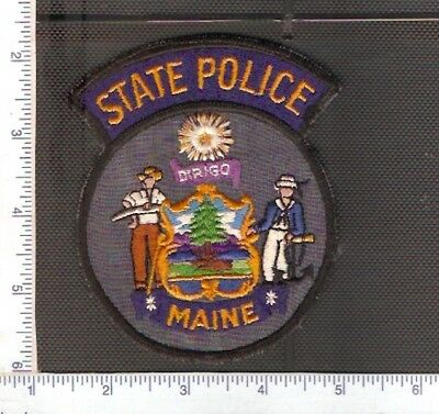 for sale1 vintage police shoulder patch,Maine State Police.