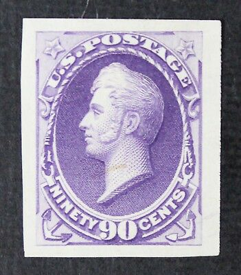 CKStamps: US Stamps Collection Scott#218P3 90c Perry Unused H NG Proof