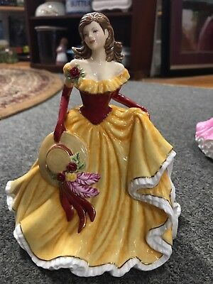 ROYAL DOULTON Pretty Ladies Thoughts of You Figurine HN5491 ~ Mint Condition