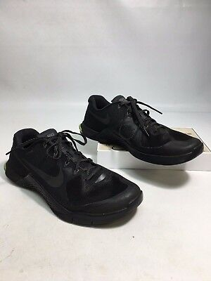 NIKE Men's Metcon 2 Running Shoes in Black Size 11 (S782)