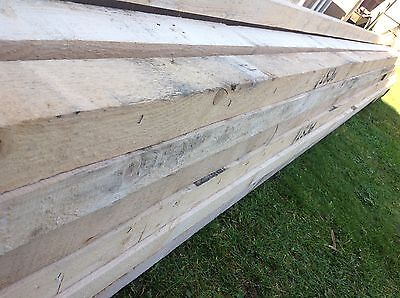 "RECLAIMED TIMBER BEARERS JOISTS SUPPORTS 4"" x 3"" x 20ft (6m) LONG EXC COND"