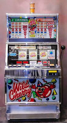 "Igt S+ Reel Slot Machine: ""wild Cherry""                        **free Shipping**"
