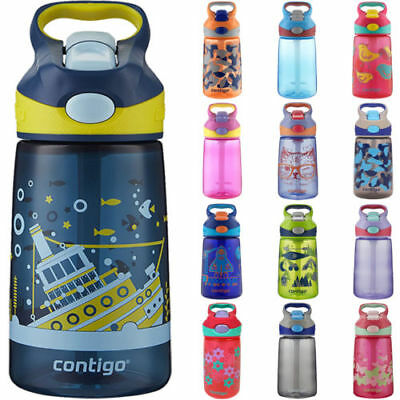 NEW Contigo 14 oz. Kid's Striker Autospout Water Bottle CHOOSE COLORS