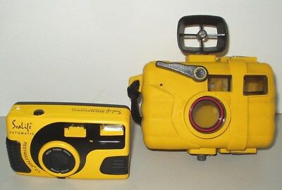 Sealife Reefmaster CL Automatic Underwater 35mm camera with a waterproof housing