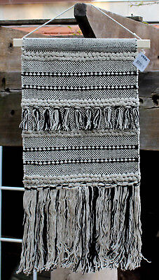 * REDUCED *  Boho  Wool / Cotton Wall Hanging   BRAND NEW