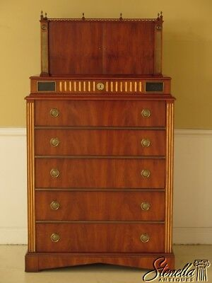 L42108E: JOHN WIDDICOMB Russian New Classical Design Chiffonier Chest