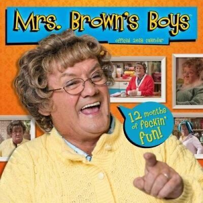 Mrs Brown's Boys Official 2018 Calendar - Square Wall Format 9781785493676