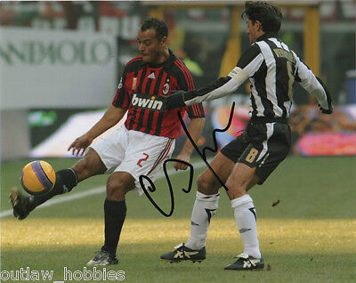 AC Milan Cafu Autographed Signed 8x10 Photo COA