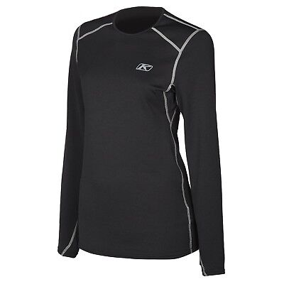 Klim Solstice 2.0 Base Layer Shirt Black Womens All Sizes