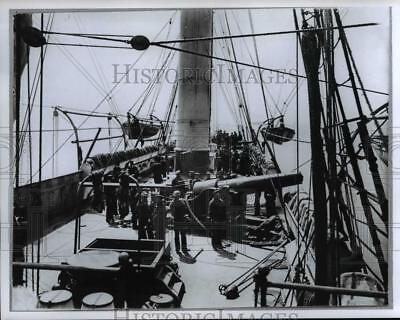 Press Photo Gunboat Mendota - cvb10256