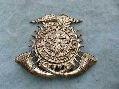 Vintage Salvation Army Crest Eagle Hat Badge United States Early