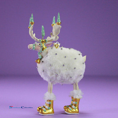 Patience Brewster Moonbeam Mini Blitzen Ornament 31242